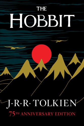Book cover: The Hobbit, or There and Back Again