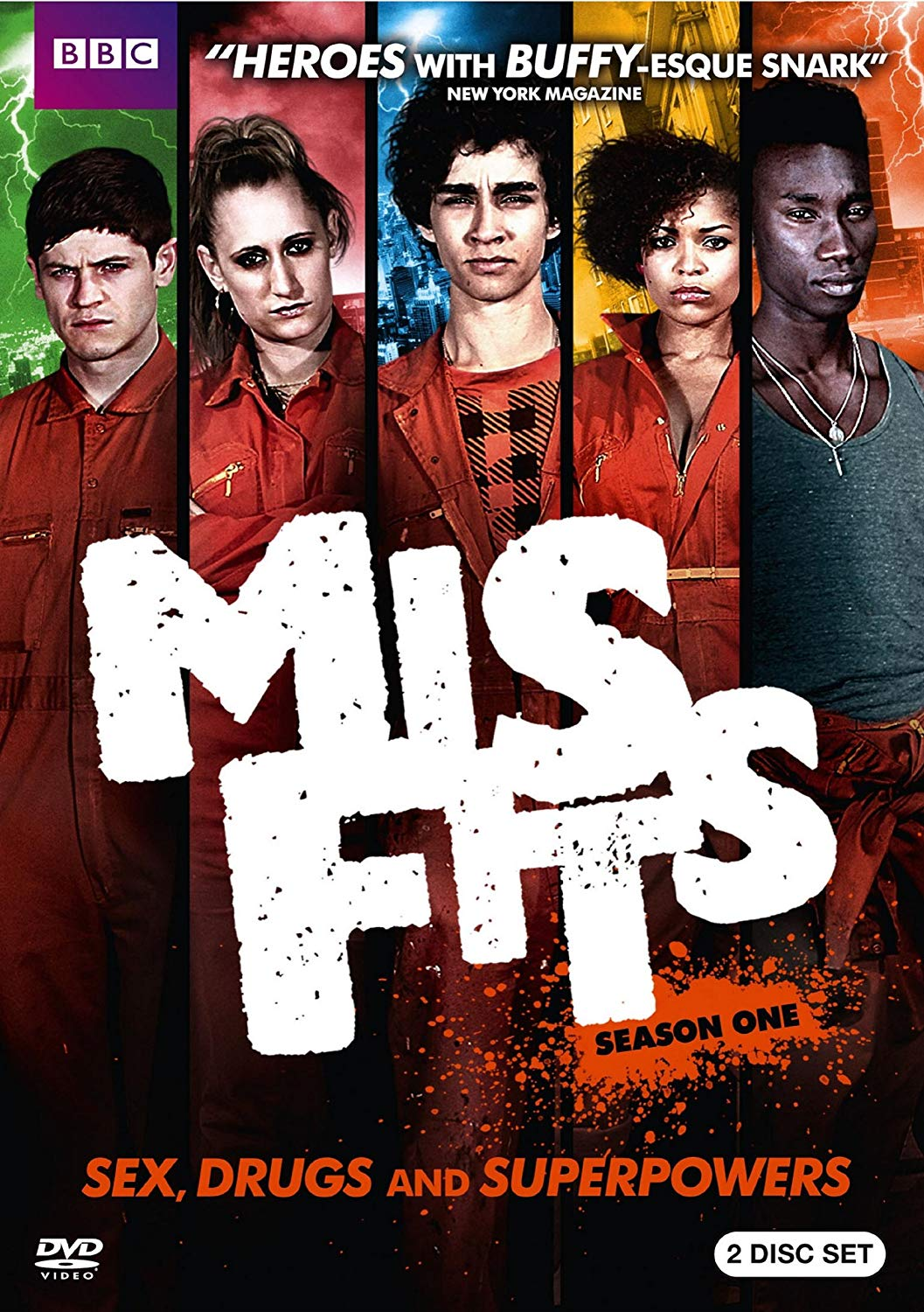 Tv Show cover: Misfits