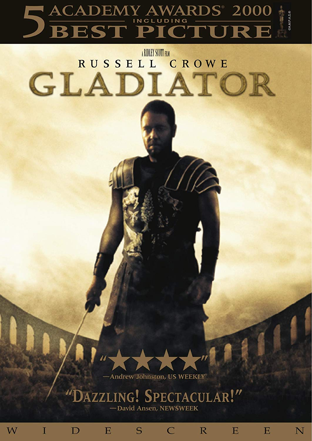 Movie cover: Gladiator