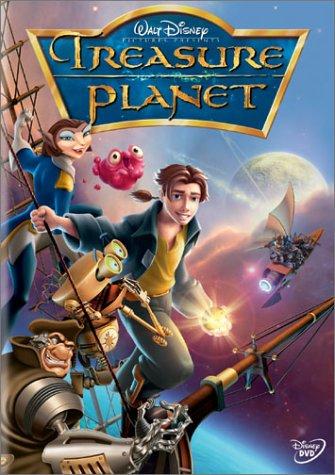 Movie cover: Treasure Planet