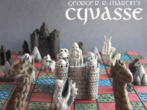 Design for the boeard game Cyvasse from A Song of Ice and Fire