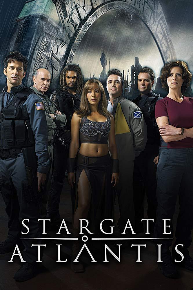 Stargate Atlantis cover