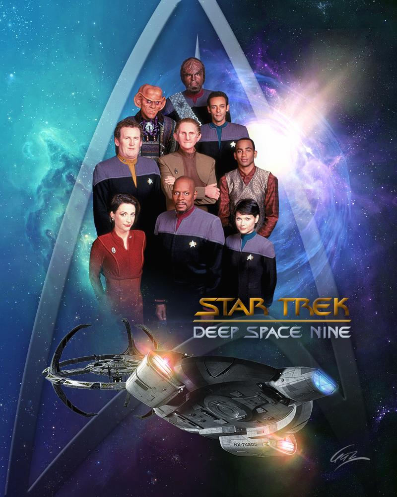 Star Trek: Deep Space Nine TV-Show Cover