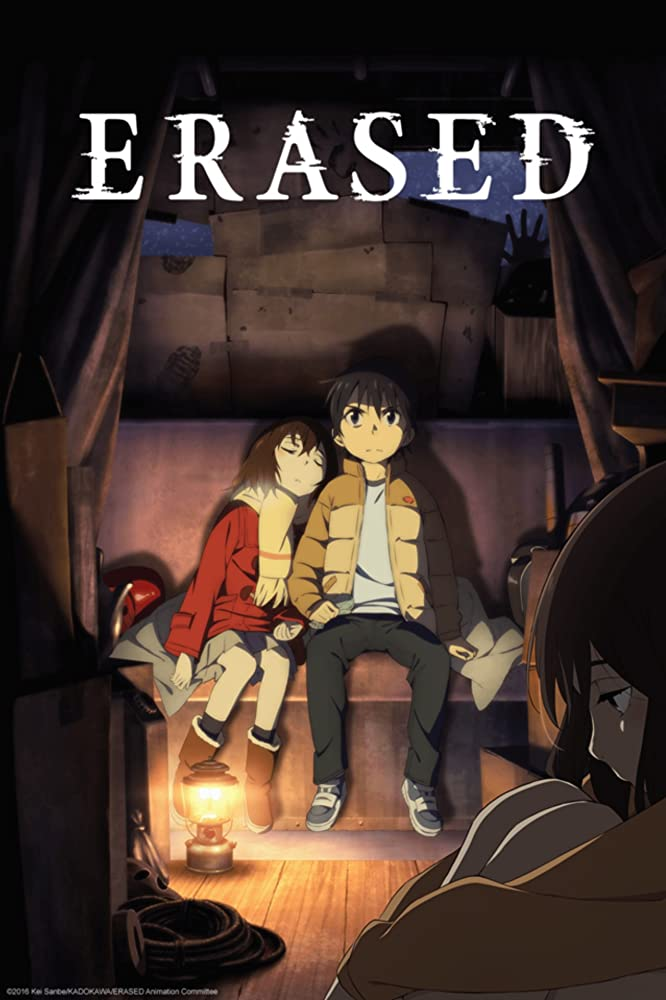 ERASED anime cover