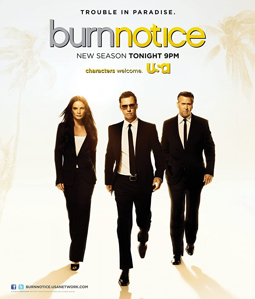 Burn Notice TV-Show Cover