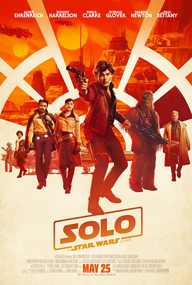 Solo: A Star Wars Story Movie Cover