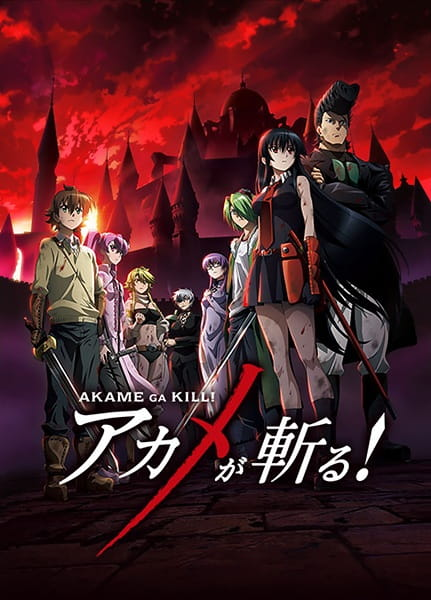 Akame ga Kill! Anime Cover