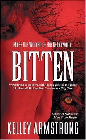 Bitten (Otherworld #1) by Kelley Armstrong Book Cover
