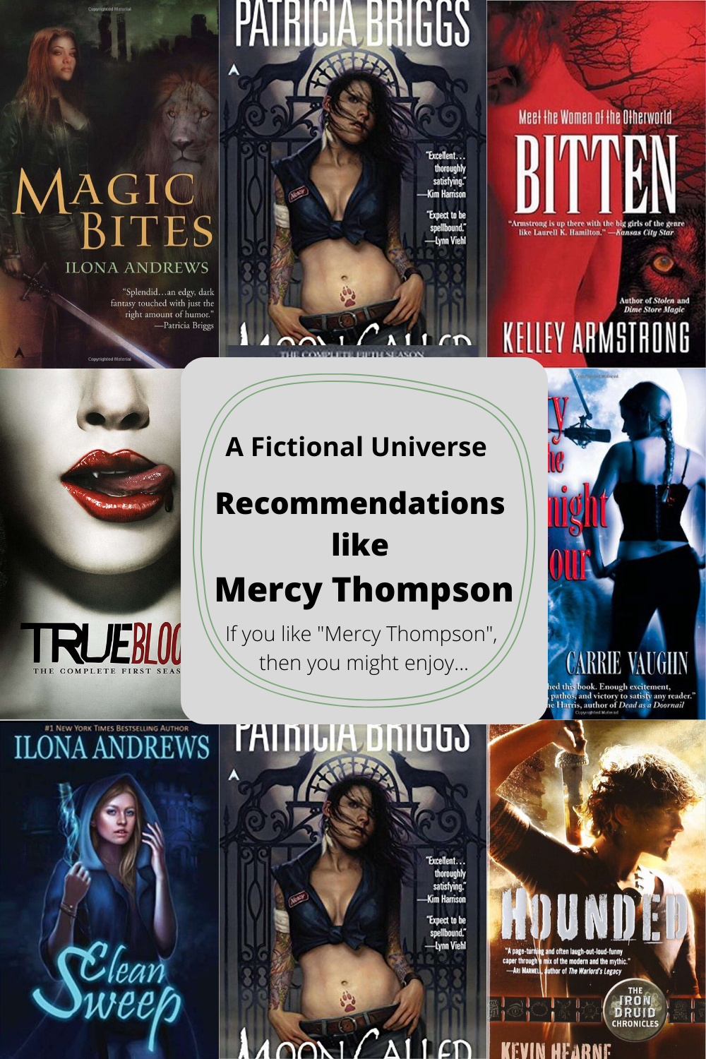Mercy Thompson Similar Recommendation Article Image