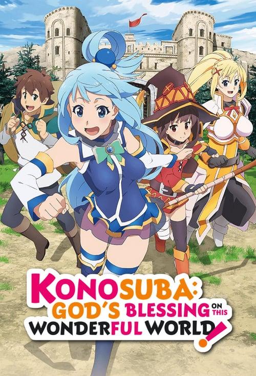KonoSuba: God's Blessing on This Wonderful World! Anime Cover