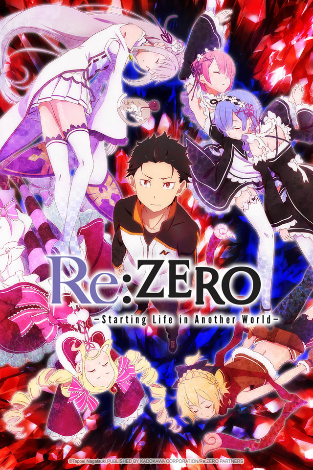 Re: Zero - Starting Life in Another World Anime Cover