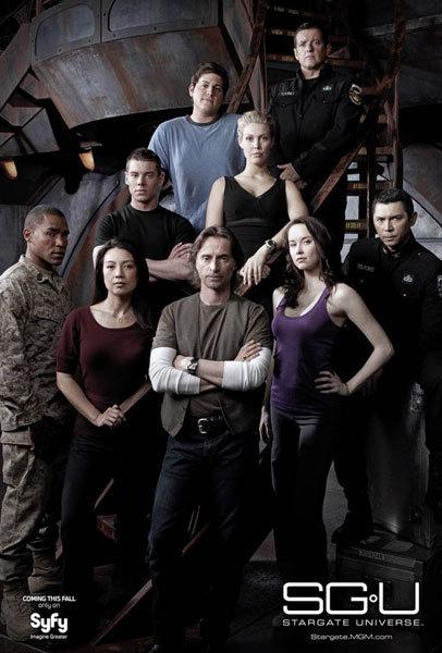 Stargate Universe Show Cover