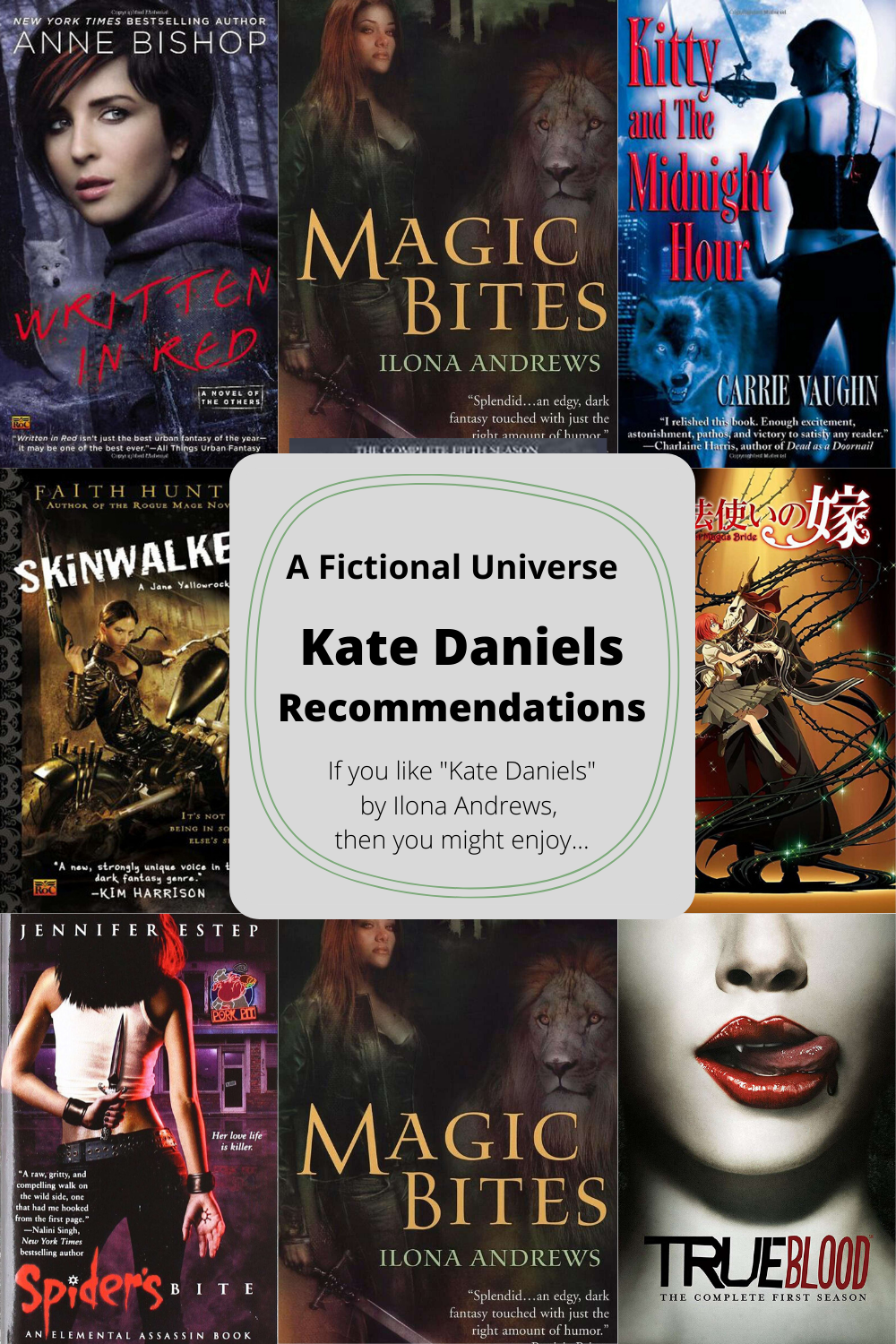 Kate Daniels Recommendations Article Image