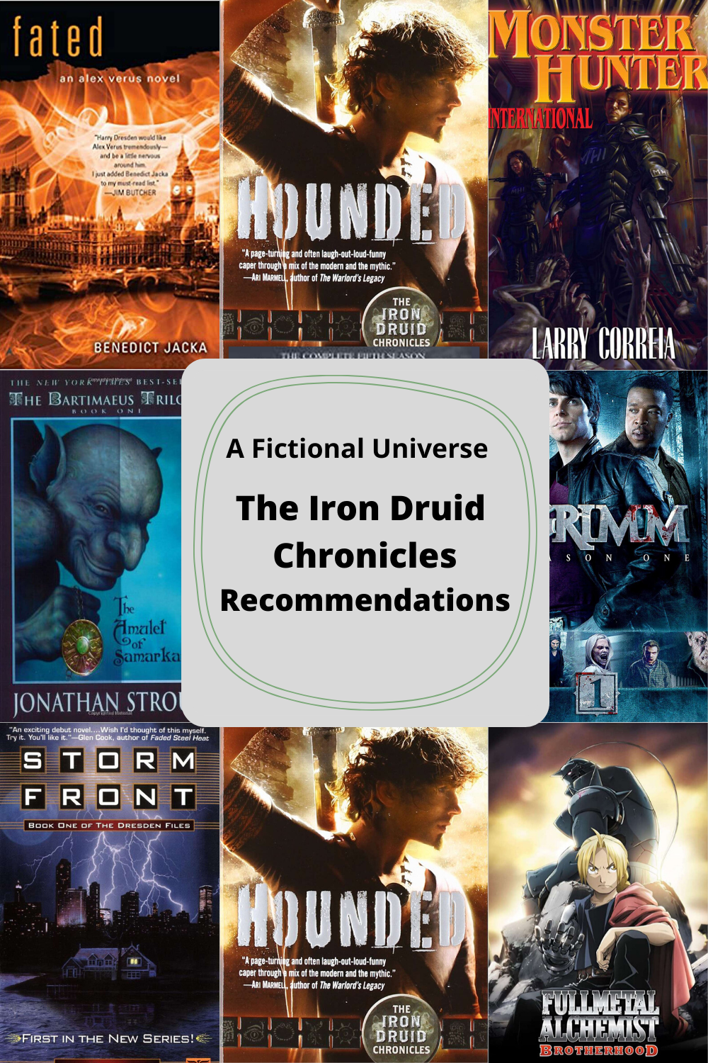 The Iron Druid Chronicles Recommendations Article Image 2