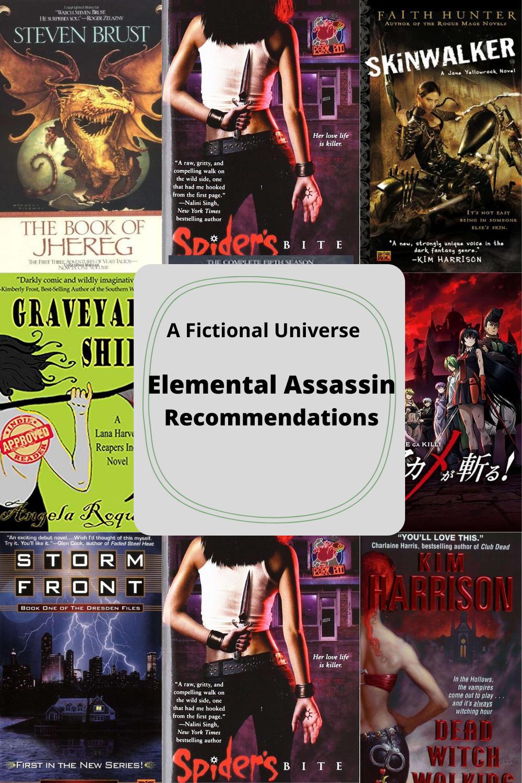 "If you like ""Elemental Assassin"" by Jennifer Estep, then you might enjoy..."
